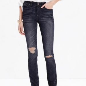 Madewell High Riser Jeans in Kincaid wash